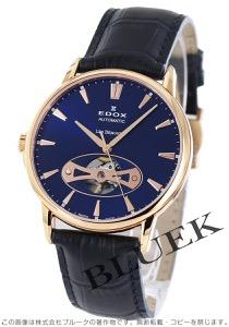 エドックス レ・ベモン オープンハート 腕時計 メンズ EDOX 85021-37R-BUIR