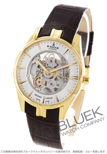 エドックス グランドオーシャン オープンハート 腕時計 メンズ EDOX 85301-37J-AID