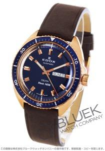 エドックス デルフィン フリート 1650 世界限定200本 替えベルト付き 腕時計 メンズ EDOX 88004-BRZBU-BUI