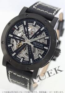 エポス エモーション スケルトン 腕時計 メンズ EPOS 3422BSKBK