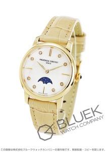 フレデリックコンスタント スリムライン ムーンフェイズ ダイヤ 腕時計 レディース FREDERIQUE CONSTANT 206MPWD1S5