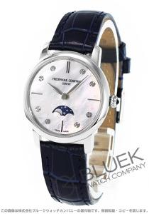 フレデリックコンスタント スリムライン ムーンフェイズ ダイヤ 腕時計 レディース FREDERIQUE CONSTANT 206MPWD1S6