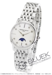 フレデリックコンスタント スリムライン ムーンフェイズ ダイヤ 腕時計 レディース FREDERIQUE CONSTANT 206MPWD1S6B