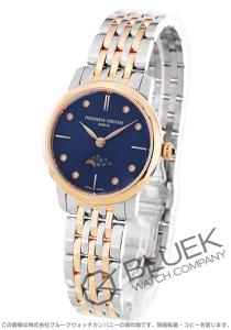 フレデリックコンスタント スリムライン ムーンフェイズ ダイヤ 腕時計 レディース FREDERIQUE CONSTANT 206ND1S2B