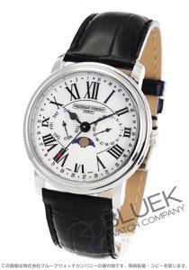 フレデリックコンスタント クラシック ビジネスタイマー ムーンフェイズ 腕時計 メンズ FREDERIQUE CONSTANT 270M4P6