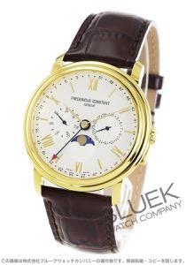 フレデリックコンスタント クラシック ビジネスタイマー ムーンフェイズ 腕時計 メンズ FREDERIQUE CONSTANT 270SW4P5