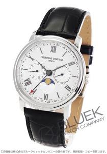 フレデリックコンスタント クラシック ビジネスタイマー ムーンフェイズ 腕時計 メンズ FREDERIQUE CONSTANT 270SW4P6