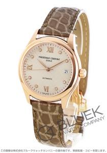 フレデリックコンスタント ダイヤ アリゲーターレザー 腕時計 レディース FREDERIQUE CONSTANT 303LGD3B4