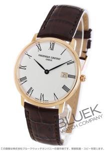 フレデリックコンスタント スリムライン 腕時計 メンズ FREDERIQUE CONSTANT 306MR4S4