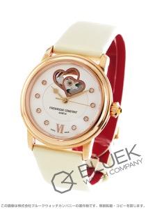 フレデリックコンスタント ワールドハート フェデレーション ダイヤ サテンレザー 腕時計 レディース FREDERIQUE CONSTANT 310WHF2P4