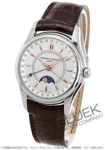 フレデリックコンスタント インデックス ムーンタイマー ムーンフェイズ 腕時計 メンズ FREDERIQUE CONSTANT 330V6B6