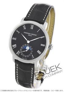フレデリックコンスタント マニュファクチュール スリムライン ムーンフェイズ アリゲーターレザー 腕時計 メンズ FREDERIQUE CONSTANT 705GR4S6