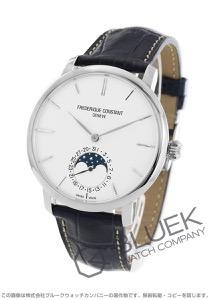 フレデリックコンスタント マニュファクチュール スリムライン ムーンフェイズ アリゲーターレザー 腕時計 メンズ FREDERIQUE CONSTANT 705S4S6-N