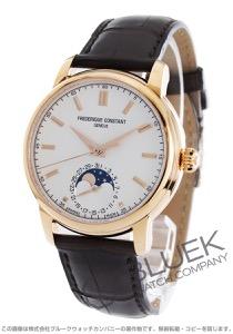 フレデリックコンスタント マニュファクチュール ムーンフェイズ アリゲーターレザー 腕時計 メンズ FREDERIQUE CONSTANT 715V4H4