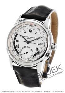 フレデリックコンスタント マニュファクチュール ワールドタイマー GMT アリゲーターレザー 腕時計 メンズ FREDERIQUE CONSTANT 718MC4H6