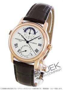 フレデリックコンスタント ハイブリッド マニュファクチュール アリゲーターレザー 腕時計 メンズ FREDERIQUE CONSTANT 750MC4H4