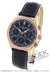 フレデリックコンスタント マニュファクチュール フライバック クロノグラフ アリゲーターレザー 腕時計 メンズ FREDERIQUE CONSTANT 760N4H4