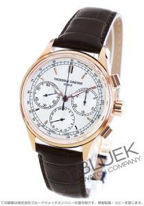 フレデリックコンスタント マニュファクチュール フライバック クロノグラフ アリゲーターレザー 腕時計 メンズ FREDERIQUE CONSTANT 760V4H4