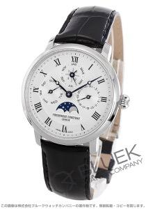 フレデリックコンスタント スリムライン マニュファクチュール パーペチュアルカレンダー ムーンフェイズ 腕時計 メンズ FREDERIQUE CONSTANT 775MC4S6