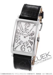 フランクミュラー ロングアイランド レリーフ クロコレザー 腕時計 メンズ FRANCK MULLER 1000 SC REL[FM1000SCSSSLENBKR]