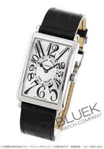フランクミュラー ロングアイランド クロコレザー 腕時計 メンズ FRANCK MULLER 1000 SC[FM1000SCSSSLLZBK]