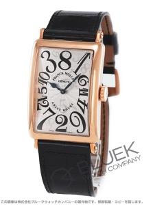フランクミュラー ロングアイランド クレイジーアワーズ PG金無垢 クロコレザー 腕時計 メンズ FRANCK MULLER 1200 CH