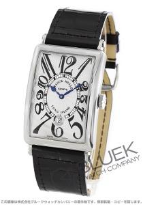 フランクミュラー ロングアイランド デイト クロコレザー 腕時計 メンズ FRANCK MULLER 1200 SC DT[FM1200SCSSSLENBK]