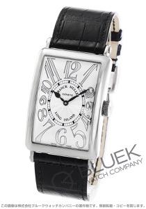 フランクミュラー ロングアイランド レリーフ クロコレザー 腕時計 メンズ FRANCK MULLER 1200 SC REL[FM1200SCSSSLENBKR]