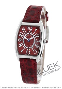 フランクミュラー トノーカーベックス レッドカーペット クロコレザー 腕時計 レディース FRANCK MULLER 1752 M QZ