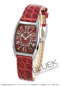 フランクミュラー トノーカーベックス レッドカーペット クロコレザー 腕時計 レディース FRANCK MULLER 1752 M QZ[FM1752MQZRCSSRDENRD]