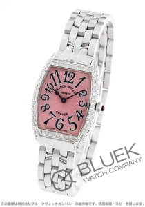 フランクミュラー トノーカーベックス ダイヤ 腕時計 レディース FRANCK MULLER 1752 QZ D
