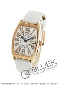 フランクミュラー トノーカーベックス アンサンブル レリーフ PG金無垢 クロコレザー 腕時計 レディース FRANCK MULLER 1752 QZ REL V-R
