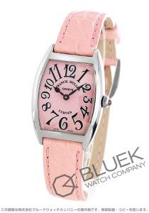 フランクミュラー トノーカーベックス クロコレザー 腕時計 レディース FRANCK MULLER 1752 B QZ [FM1752QZSSPKLZPK]
