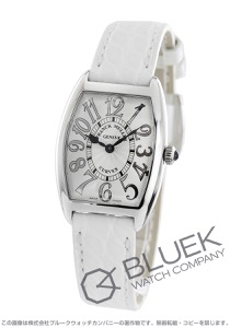 フランクミュラー トノーカーベックス レリーフ クロコレザー 腕時計 レディース FRANCK MULLER 1752 QZ REL[FM1752QZSSSLENWHR]