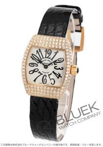フランクミュラー グレイスカーベックス ダイヤ PG金無垢 クロコレザー 腕時計 レディース FRANCK MULLER 2267 QZ D