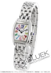 フランクミュラー トノーカーベックス プティ カラードリーム 腕時計 レディース FRANCK MULLER 2502 QZ COL DRM