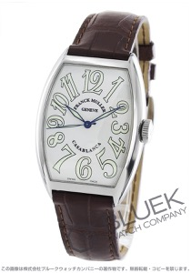 フランクミュラー カサブランカ クロコレザー 腕時計 メンズ FRANCK MULLER 5850 H C[FM5850HSCCASSWHLZDBR]