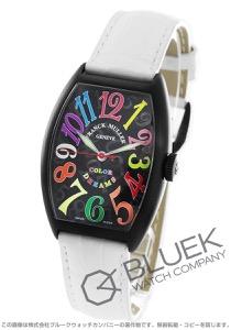 フランクミュラー トノーカーベックス カラードリームズ クロコレザー 腕時計 ユニセックス FRANCK MULLER 5850 SC COL DRM NR