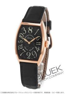 フランクミュラートノーカーベックス クレイジーアワーズ PG金無垢 クロコレザー 腕時計 ユニセックス 5850 CH[FM5850SCCHPGBKLZBK]