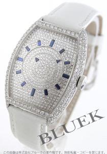 フランクミュラー トノーカーベックス ダブルミステリー ダイヤ WG金無垢 クロコレザー 腕時計 メンズ FRANCK MULLER 6850