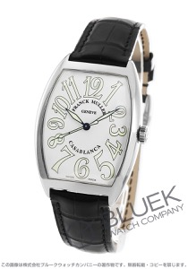 フランクミュラー カサブランカ クロコレザー 腕時計 メンズ FRANCK MULLER 6850 B C