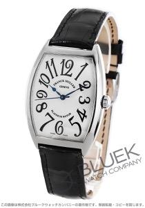 フランクミュラー トノーカーベックス プラチナローター クロコレザー 腕時計 メンズ FRANCK MULLER 6850 B SC[FM6850SCPRSSSLENBK]