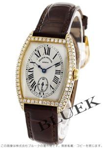 フランクミュラー トノーカーベックス クロノメトロ ダイヤ YG金無垢 クロコレザー 腕時計 レディース FRANCK MULLER 7502 S6 D