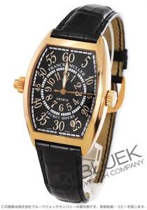 フランクミュラー トノーカーベックス シークレットアワーズ PG金無垢 クロコレザー 腕時計 メンズ FRANCK MULLER 7880 SE H