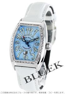 フランクミュラー コンキスタドール ダイヤ クロコレザー 腕時計 レディース FRANCK MULLER 8005 L D 1R