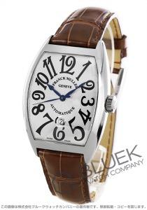 フランクミュラー トノーカーベックス クロコレザー 腕時計 メンズ FRANCK MULLER 8880 B SC DT[FM8880SCSSSLENBR]