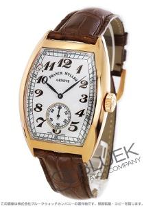 フランクミュラー ヴィンテージ 7デイズ パワーリザーブ PG金無垢 クロコレザー 腕時計 メンズ FRANCK MULLER 8880 B S6 PR VIN