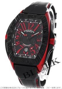 フランクミュラー コンキスタドール グランプリ クロコレザー 腕時計 メンズ FRANCK MULLER 8900 SC DT GPG[FM8900SCTIRDBKLZBK]