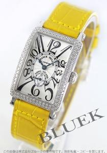 フランクミュラー ロングアイランド ダイヤ WG金無垢 クロコレザー 腕時計 レディース FRANCK MULLER 900 S6 D