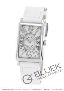 フランクミュラー ロングアイランド レリーフ ダイヤ クロコレザー 腕時計 レディース FRANCK MULLER 902 QZ REL CD 1R